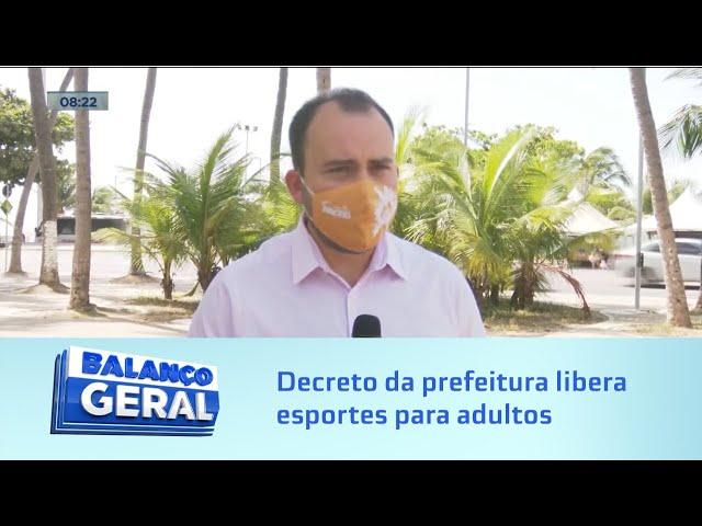 Novo Coronavírus: Decreto da prefeitura de Maceió libera esportes para adultos
