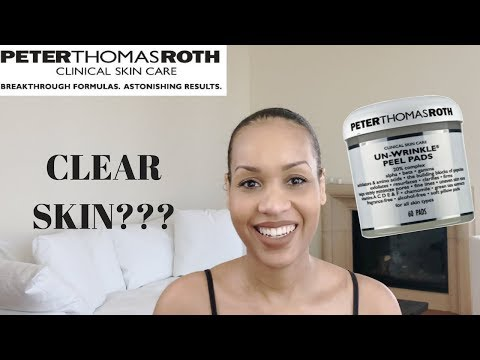 Peter Thomas Roth Un-Wrinkle Peel Pads Review | Clear Skin???