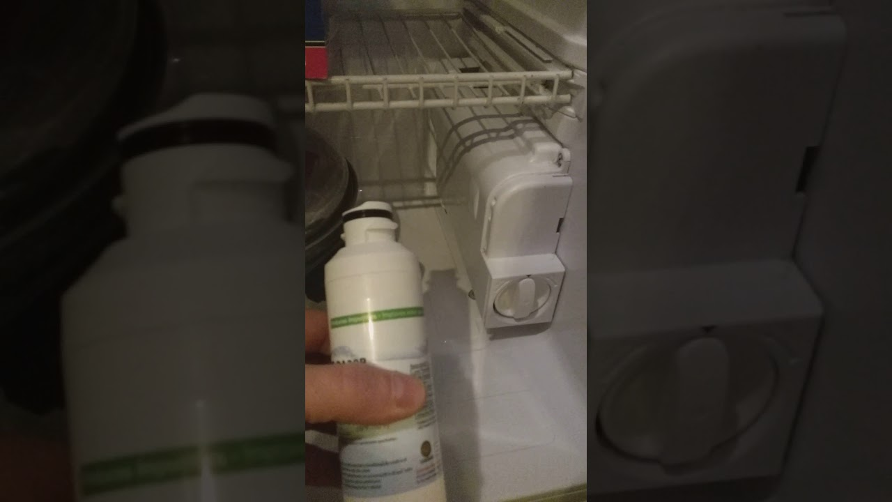 Samsung fridge filter problem