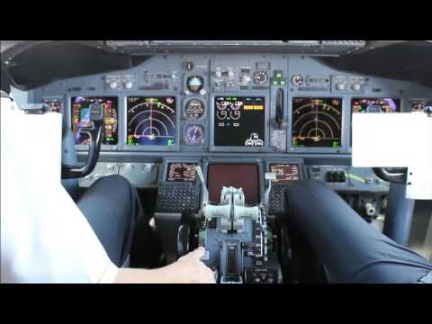 Mango Airlines - Complete Flight-Deck Action B737-800, [JE 342]  FACT to FALE