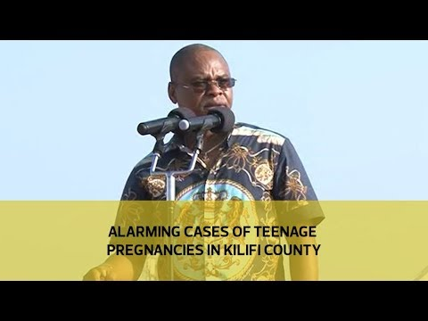Alarming cases of teenage pregnancies in Kilifi county