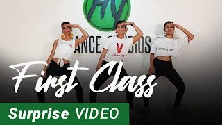 First Class & SURPRISE! | Bollywood Dance Fitness Choreography by Vijaya Tupurani | Arijit Singh