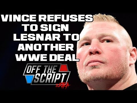 EXCLUSIVE! Brock Lesnar WANTS To Re-Sign With WWE But Vince McMahon IS NOT INTERESTED