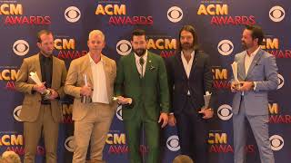 Old Dominion Claims Vocal Group of the Year at the ACM Awards