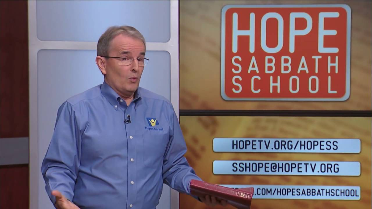 Hope Sabbath School: Lesson 9   Jesus Ministered to Their Needs 3rd Qtr 2016