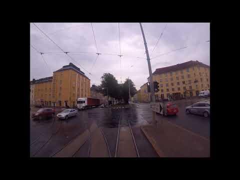 Helsingin Raitiolinja: 1 Käpylä-Eira. Uusi reitti (2017) Helsinki Tramroute: 1 New route (2017)