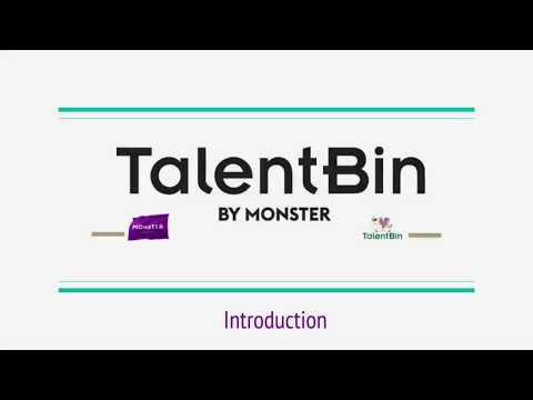 Introduction to TalentBin