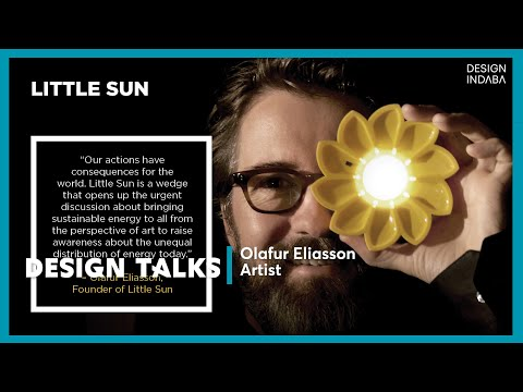 Olafur Eliasson talks design that has real-world significance