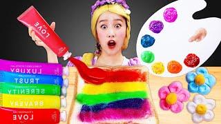 Rapunzel's rainbow color jam M…
