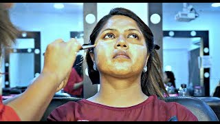 Indian Bridal Makeup Transformation | Full Coverage