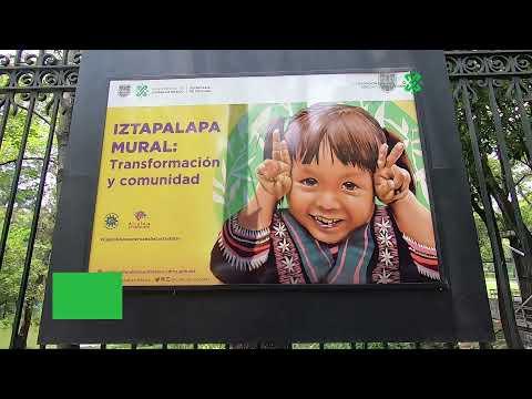PRESENTAN EN LA GALERÍA ABIERTA DE LAS REJAS DE CHAPULTEPEC MUESTRA FOTOGRÁFICA 'IZTAPALAPA MURAL'