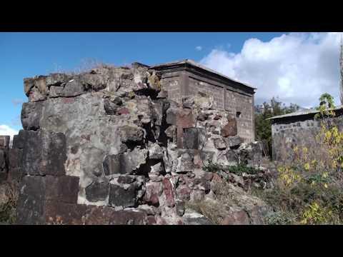 Как строили старинные храмы, конструктив стен старинного храма в Армении