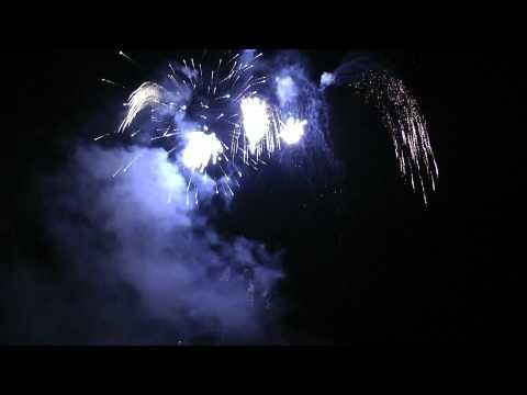 Swiss National Day Fireworks - Interlaken 1st August 2012