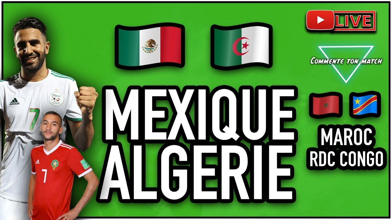Amical : Algérie-Nigeria, Maroc-Sénégal… Un vendredi de chocs !