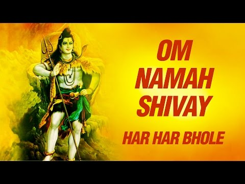 Om Namah Shivay Om Namah Shivay ( peaceful bhajan ) By Anup Jalota Shiva Mantra: This video is dedicated to Lord Shiva..........The Great Lord Who We All Love So Much..........Bam Bam Bhola.............Hara Hara Mahadeva...............  Om comprises 3 parts 'A-U-M', which encompass the three bodies (gross, subtle and causal) the three states (waking, sleeping and dream), and the three levels of mind (conscious, subconscious and unconscious). What remains after transcending these is utter quietude, sheer silence which is symbolised by amatra. Om Namah Shivaya is a sacred mantra in adoration of Lord Shiva. 108 times chanting of this mantra in the featured video helps you to delve deep within, taking you to meditativeness, a sublime journey to your inner being. It has been drawn from the album titled 'Shiva's Ecstasy' presenting more chants of Shiva in mesmerising voice of Anandmurti Gurumaa.  Album : Shiv Dhun Song : Om Namah Shivay Om Namah Shivay Singer : Anup Jalota  To watch more Indian Devotional Songs  Chants  Hindu Aartis  Bhajans & Bhakti Songs click here http://www.youtube.com/saiaashirwad  Subscribe to Get daily updates on Sai Songs and Devotional Chants http://www.youtube.com/subscription_center?add_user=saiaashirwaad