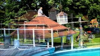 Installing A Cupola On A Gazebo --  Weymouth, Ma