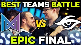 NIGMA vs SECRET with The Best Captains in the World - EPIC GRAND FINAL WePlay! Mad Moon Dota 2