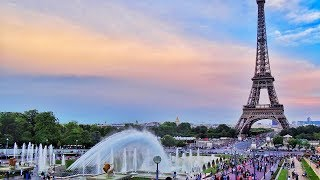 4K HDR Video - Beautiful Paris City, Nature And Other Landscapes in France