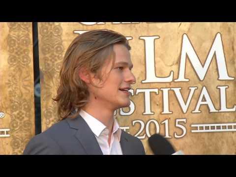 Lucas Till - 2015 Catalina Film Festival Crest Award Winner