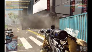 Battlefield 4 Quickscope Montage MULTIKILLS!