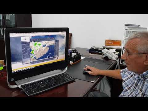 The man behind the scenes.Professor Yuri Tkachenko, daily activities on Rain Enhancement in The Gulf