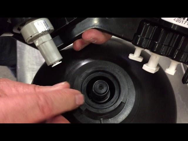 Reapplying Manifold to Tank - WOWRO