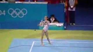 Patricia Moreno 2004 Olympics Qualifications Floor