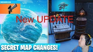 Fortnite Live Update Gameplay! Lets explore what patch 7.2 has to offer! Continued!