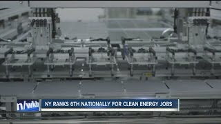 NY ranks 4th in the nation for solar energy jobs