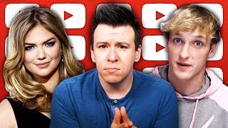 Guess Who Harassed Kate Upton, Logan Paul Youtube