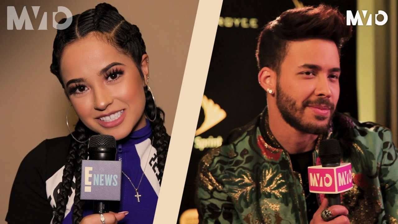 Becky G And Prince Royce Share The Best Advice From Their Moms Sessions The Mvto