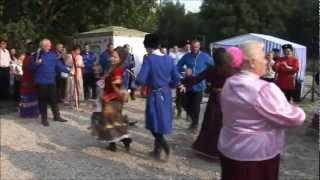 Казачья лезгинка в Пятигорске/Terek Cossack dance in Pyatigorsk