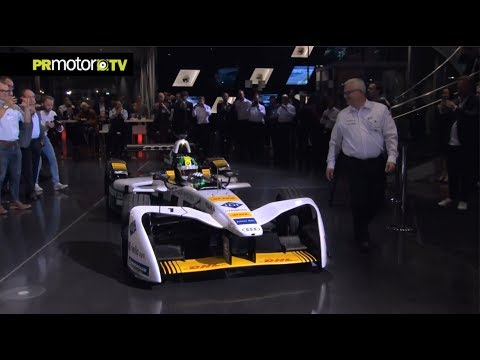 Audi Formula E Team Presentation 2017 - Material Completo en PRMotor TV Channel