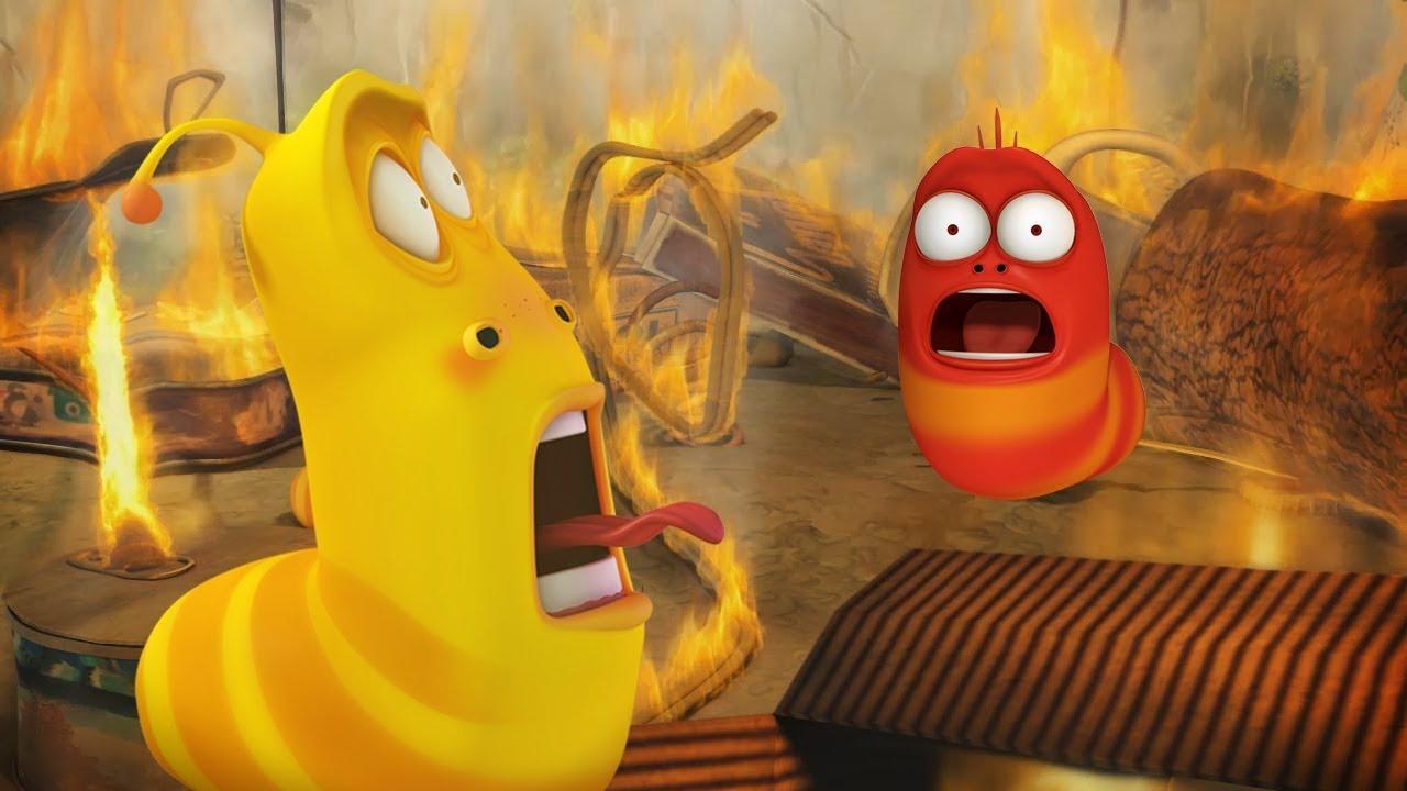 LARVA - FIRE BUGS | Cartoon Movie | Cartoons For Children | Larva Cartoon | LARVA Official