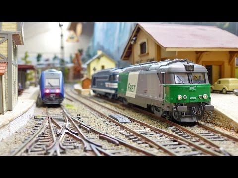 Trains miniatures ho : x72500 jouef BB 67000 ree digital sound
