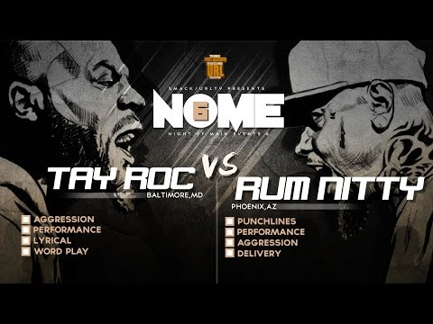 TAY ROC VS RUM NITTY SMACK/ URL RAP BATTLE