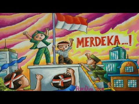 Gambar Ilustrasi Tema Kemerdekaan Indonesia Gambar Tema Hari Pahlawan Ilustrasi Peristiwa Bendera Di Hotel