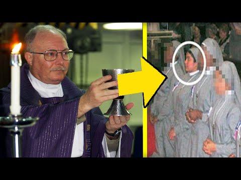 Stava per diventare suora ma il vescovo vede qualcosa di strano in lei e interrompe la cerimonia