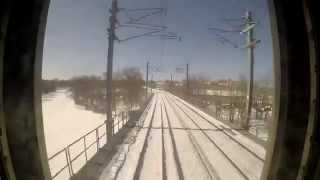 Amtrak Shore Line Providence to Hawk with Snow!