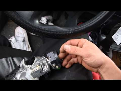 2004 Honda Civic Ignition Lock Cylinder/ Ignition Switch Assembly Replacement