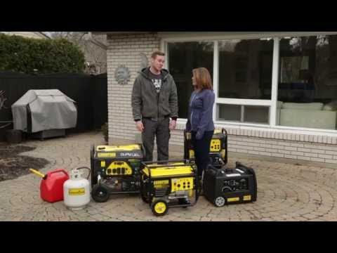 Many Different Sizes – Generators & Storm Preparedness with Mike Holmes Jr.