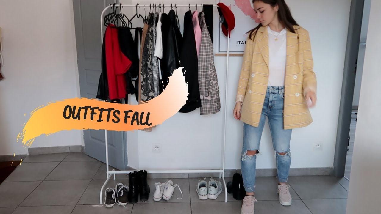 [VIDEO] - FALL OUTFITS IDEAS ♡ - Juste Emma 1
