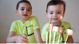 حمزة و اناس يلعبون عائلة الاصابع