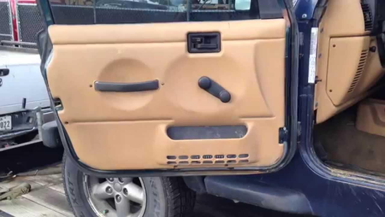 1997 2006 Jeep Wrangler Tj Black Factory Oem Full Steel