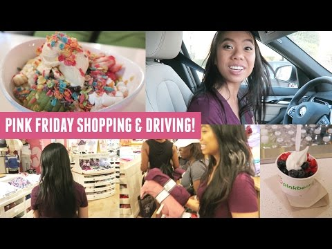 I Got A PO Box, Pink Friday Shopping, Driving & Food!