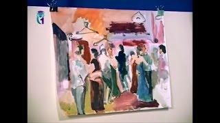 """Уроки рисования (№ 135). Рисуем картину """"Танцы"""". Часть 1"""