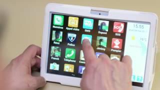Ailyan présente la tablette senior Ergomind