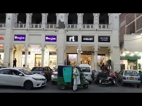 Mall road Lahore panorama shopping centre