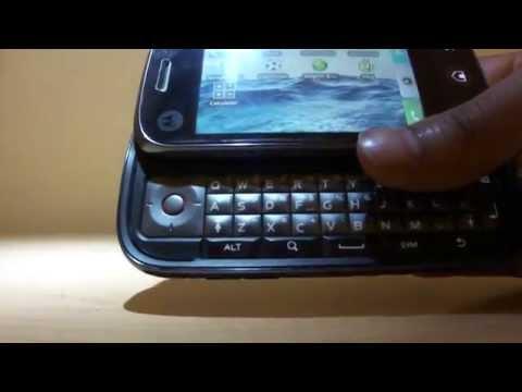 Motorola Dext (cliq) Android 1.5 on Orange UK