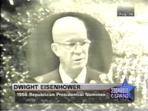1956 President Eisenhower GOP Convention Acceptance Speech